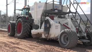Verkehrsprojekt Deutsche Einheit Nr. 8 | staubfreie Bodenstabilisierung