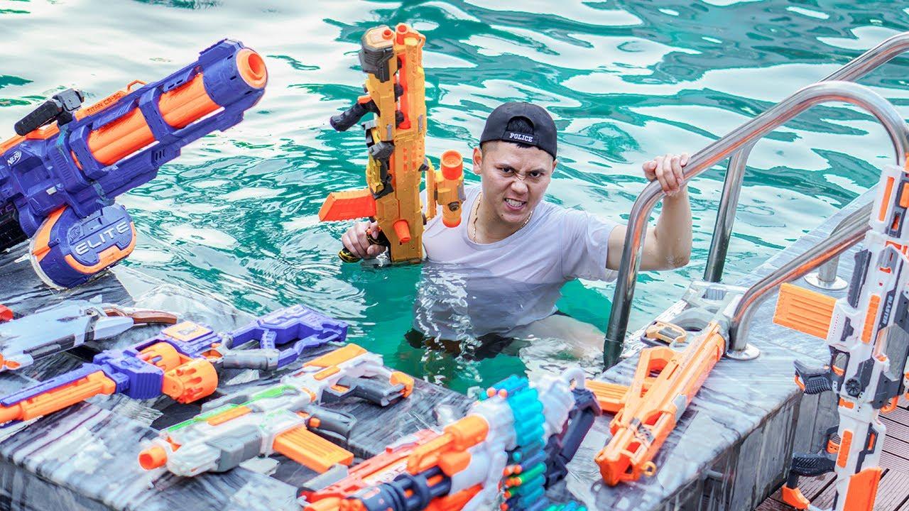 LTT Nerf War : SEAL X Warriors Nerf Guns Fight Attacking Boss's VILLA LYLY Dr Ken Crazy