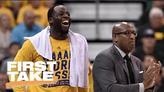 Draymond Green Not Worried About Making NBA Playoffs Boring | First Take | May 9, 2017