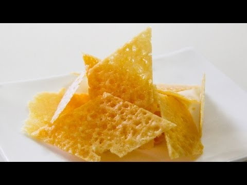 How To Make Parmesan Chips / Crisps - Video Recipe