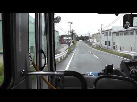 前面展望動画 岩沼市民バス・いわぬまiバス[空港線]仙台空港行きその2