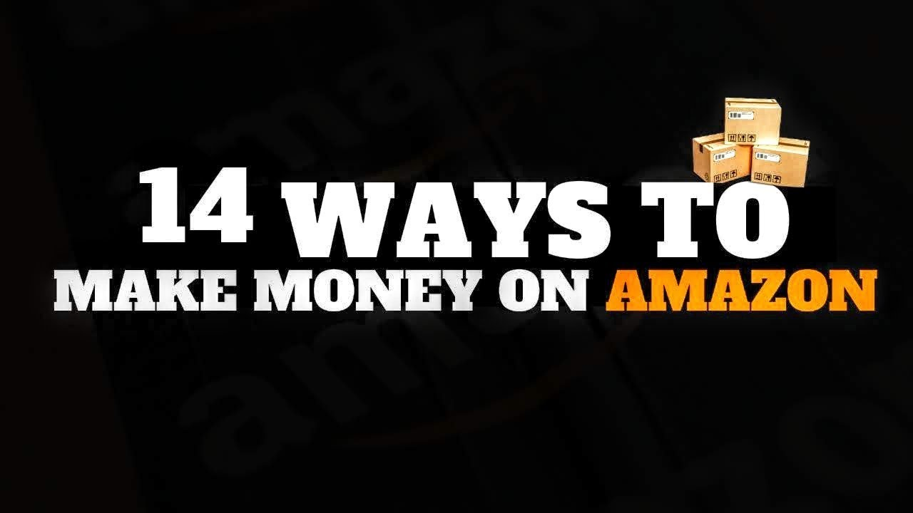 making money on amazon