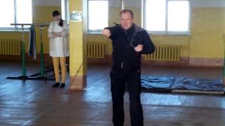 РБ на 8 счетов - Упражнение 30. Комплекс приемов рукопашного боя без оружия на 8 счетов