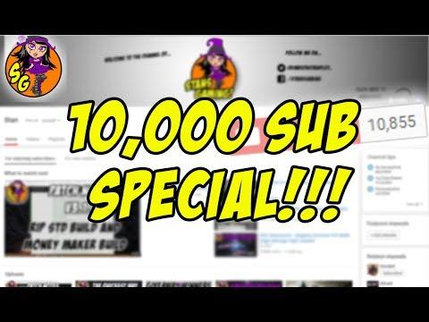 10,000 Sub Special! (Reading Literotica)