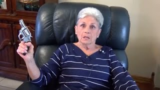 Pistol Packing Granny Opens Fire On Intruder