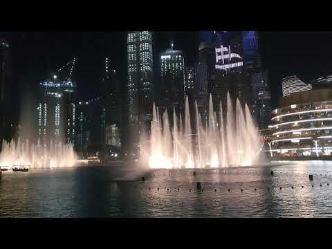 #burj Khalifa, Dubai fountain in Dubai mall.