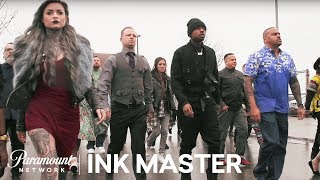 Meet The Artists Of Ink Master: Peck Vs Nuñez - Ink Master, Season 8