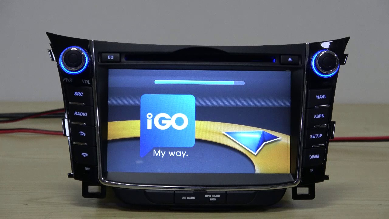 7 android 6 0 gps navigation for hyundai i30 2011 2012. Black Bedroom Furniture Sets. Home Design Ideas