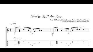 Fingerstyle Guitar - Shania Twain - You're Still the One (From Hits Collection Nr.9)