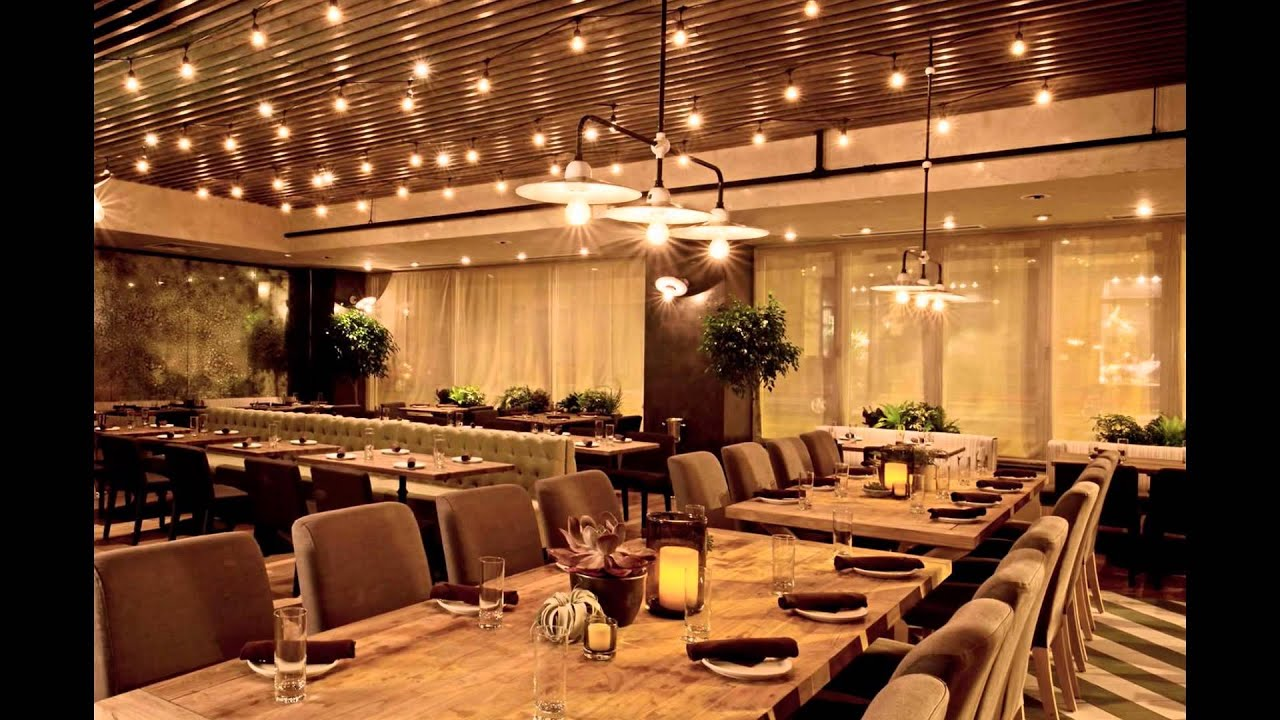 Gorgeous restaurant design ideas and architecture trends