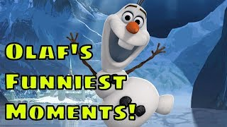 Frozen Olaf Funny Moments
