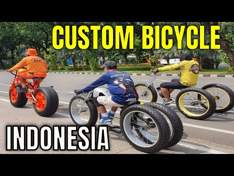 Slow Riding a Custom Bicycle in Indonesia thumbnail