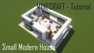 Minecraft Small Modern House 4 - Tutorial (Interior)