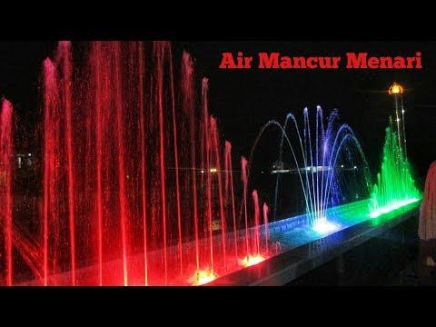 air-mancur-menari-batang-lembang,-objek-wisata-malam-terbaru-di-kota-solok
