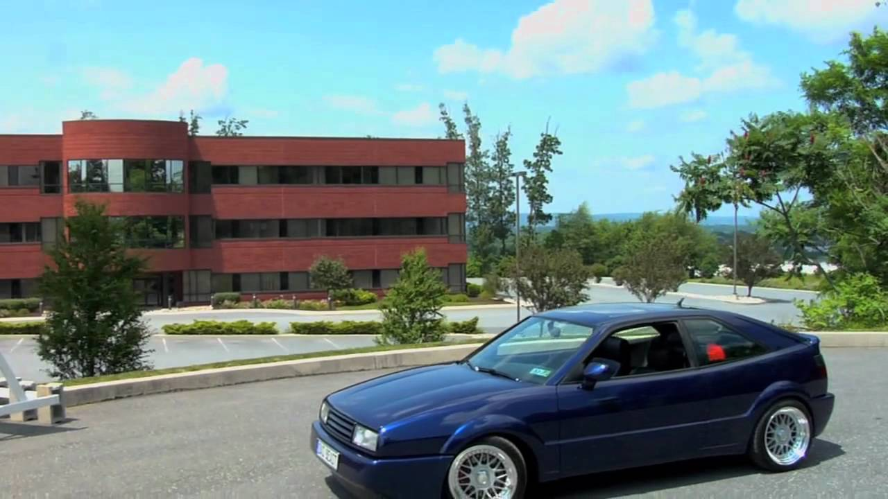 Vw Scirocco Usa >> Vw Scirocco 16v Corrado Usa Youtube