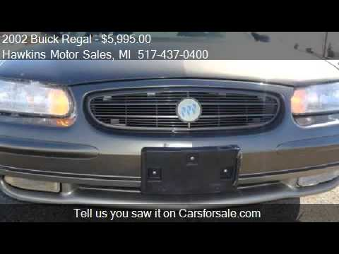 2002 buick regal gs for sale in hillsdale mi 49242 at