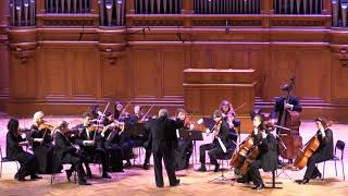 Great Hall of the Moscow Conservatory, Nov. 2017 Schubert Death and the Maiden / Rachlevsky/RSO