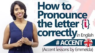 How to pronounce I correctly AccentEnglish Pronunciation Lesson