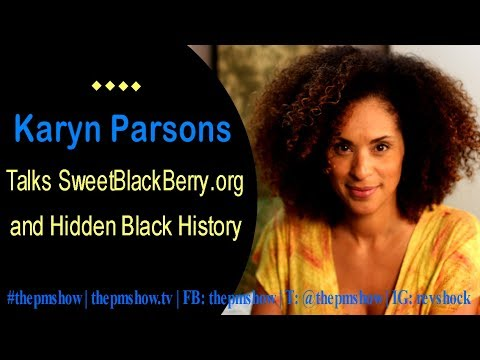 Karyn Parsons Talks SweetBlackBerry and Hidden Black History
