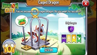 Dragon City: Holy Dragon, Let's Save Dragons Caged on your Islands! 😱