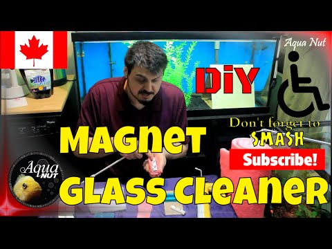 Make it Easier! DIY Glass Cleaner Tutorial 🐟 A More Accessible Aquarium
