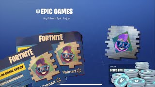 How to get the (limited edition) Walmart SPRAY... RAREST SPRAY IN FORTNITE