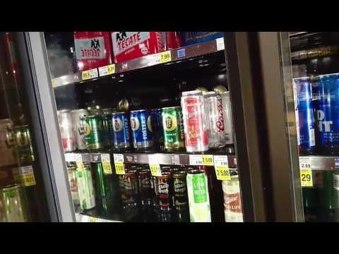 Drinks in Ralphs supermarket, Valley Village. Los Angeles.California. 04-20-2017.