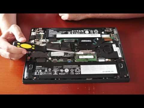Disassemble and look inside Lenovo ThinkPad T470s : thinkpad