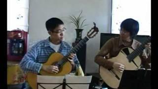 [Guitar duo] Passing by(Yiruma), with Seon-yong