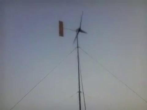 3KW Wind Turbine installation