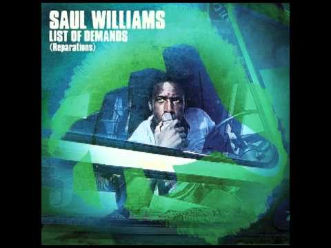 Saul Williams - List Of Demands (Reparations) - FREE DROPBOX DOWNLOAD INCLUDED