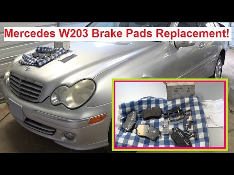 Video clip hay 2002 mercedes c200 cdi z3z5ijw5c6e xem for Mercedes benz rotors replacement