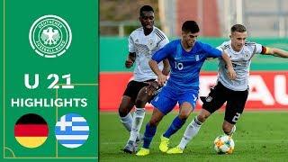 Nmecha und Dorsch sorgen für erfolgreichen Test | Deutschland - Griechenland 2:0 | Highlights | U 21