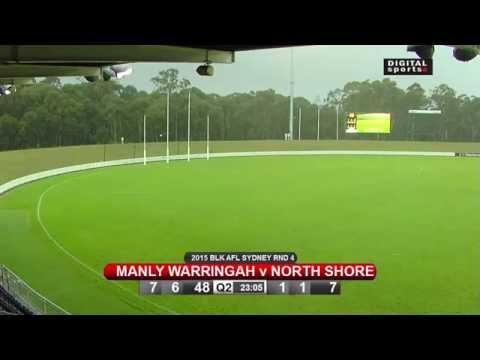 2015 AFL Sydney - Round 4 - Manly Warringah v North Shore
