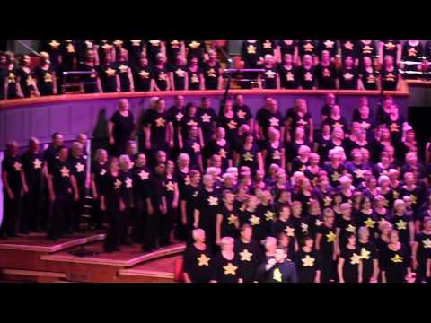 Midlands Rock Choirs - Living On A Prayer @ Birmingham's Symphony Hall