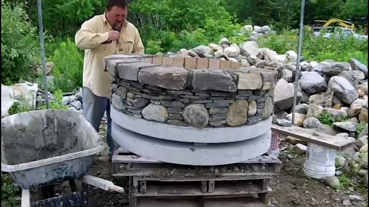 how to build a fire pit part 6 youtube. Black Bedroom Furniture Sets. Home Design Ideas
