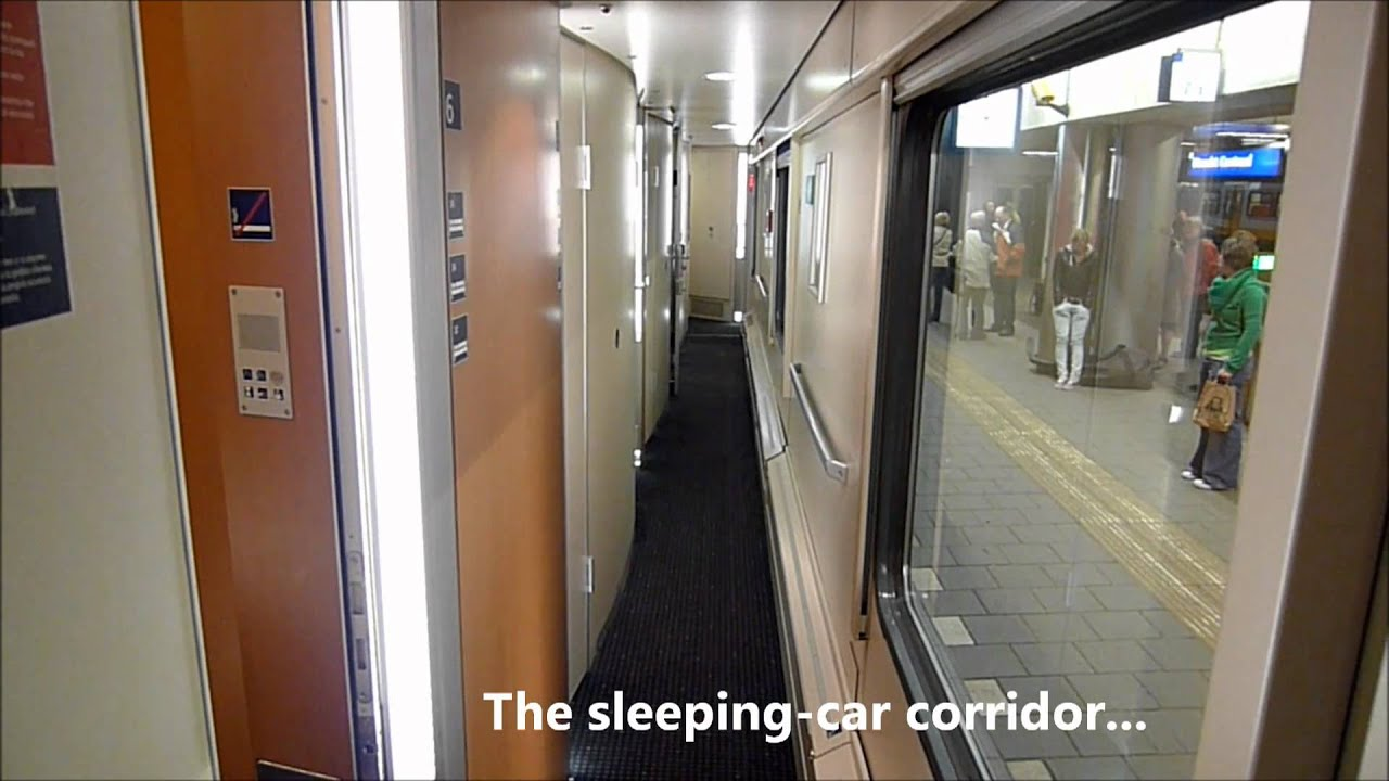 A Deluxe Sleeper On A City Night Line Overnight Train
