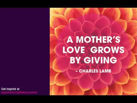 Inspirational Quotes and Poems about Moms