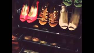Peek Inside My Closet: New Shoe Rack Installed