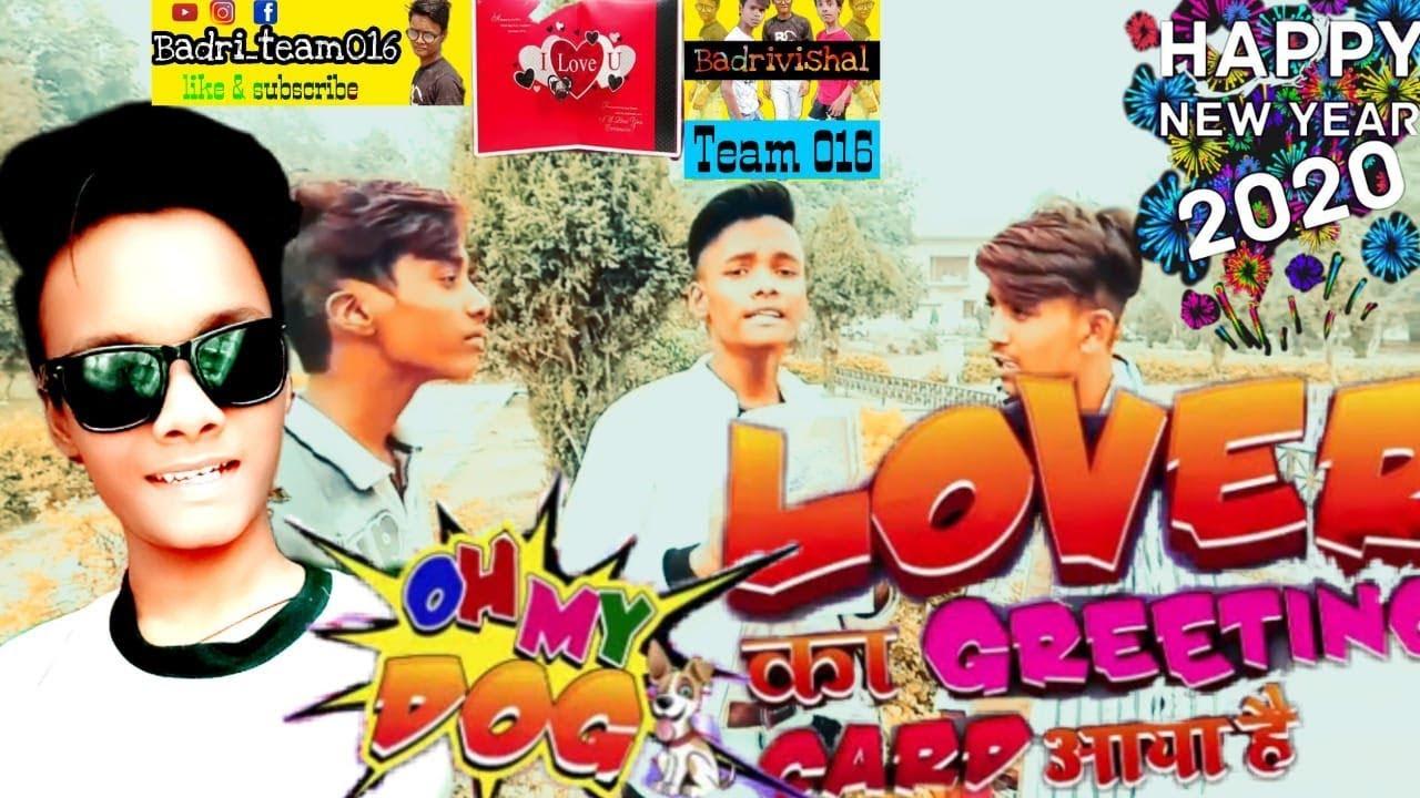 newvideolover ka greeting card aaya haiby badrivishal