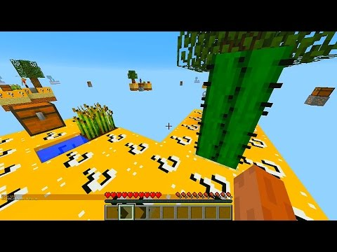 Minecraft LUCKY BLOCK SKYBLOCK WARRIORS #1 with Vikkstar, BajanCanadian, Woofless & Lachlan