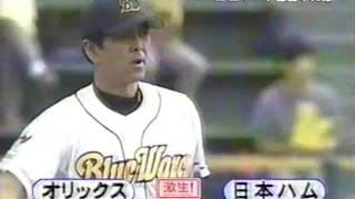 2003年10月5日 オリックスVS日本ハム 進藤達哉 引退