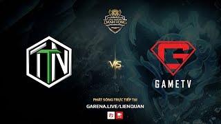 TTN vs GameTV [Vòng 10 - Ván 1] [08.10.2017]