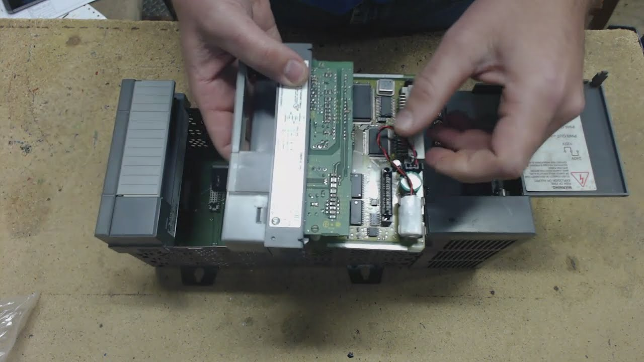 rslogix 500 clearing memory from an allen bradley slc 500 including passwords [ 1280 x 720 Pixel ]