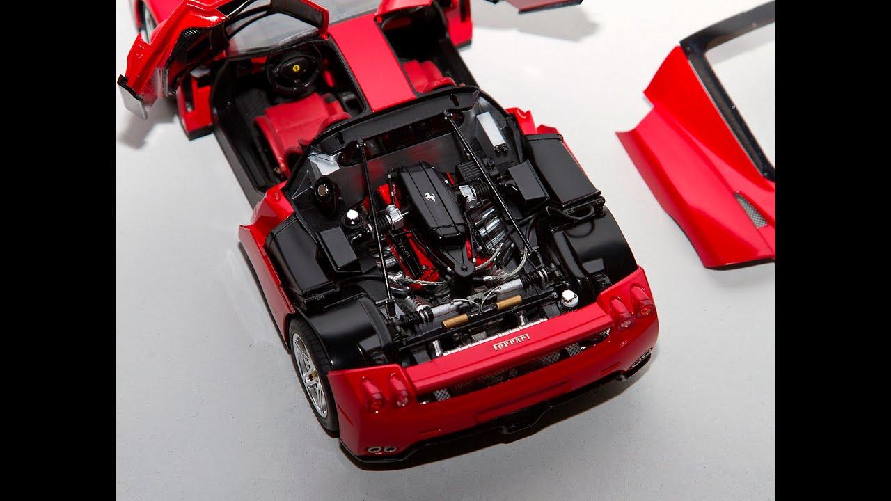 1/24 Hand Built Ferrari Enzo Based on Tamiya Kit - YouTube
