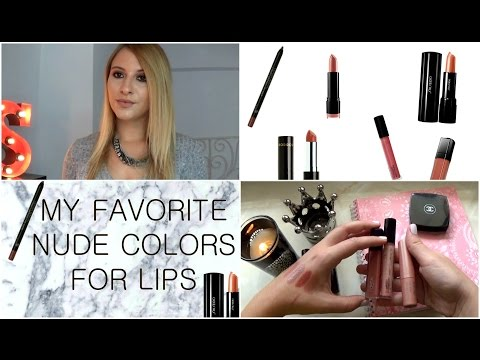 MY FAVORITE NUDE COLORS FOR LIPS & TRY ON | artemis samara