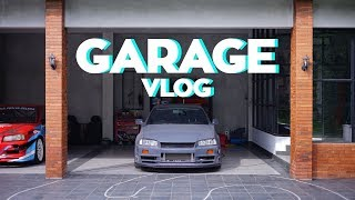 Garage Vlog: Cars Update & Shooting Equipment