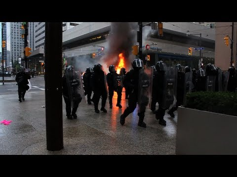 The Battle of Toronto  - G20 Protest