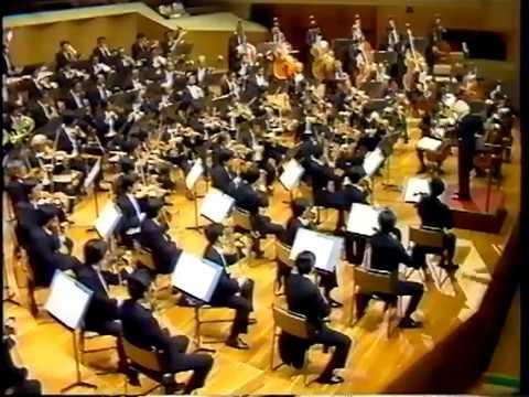 Mahler Symphony No.1 - 4th Mov. cond by Kazuo Yamada