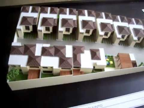 Maqueta casas guatemala residenciales santa fe escala 1 for Casas de diseno santa fe